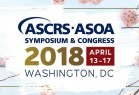 Congresso insternacional ASCRS - ASOA Symposium and Congress - Washington - EUA